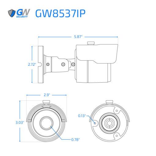 8537IP dimensions