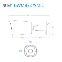 8727SMIC dimensions