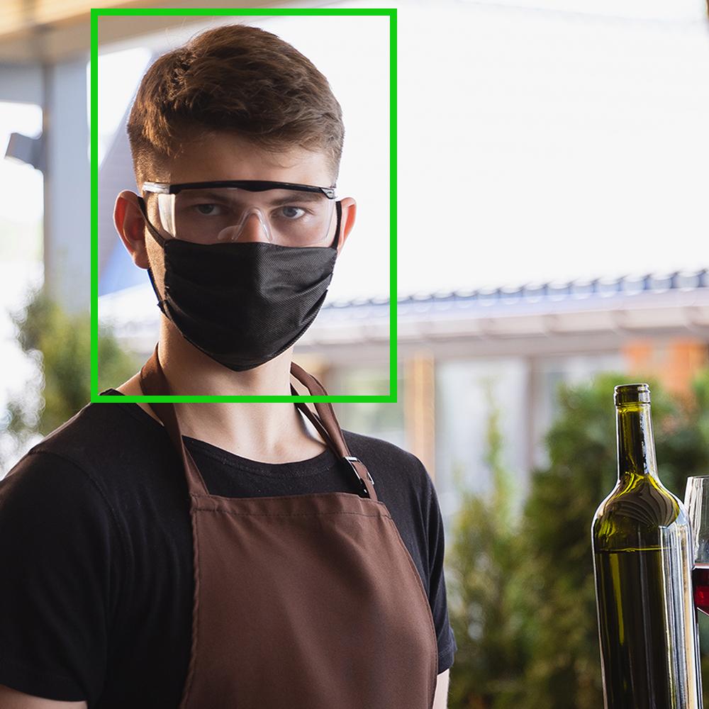 server face detection