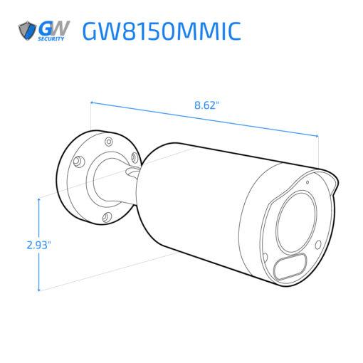 8150MMIC dimensions