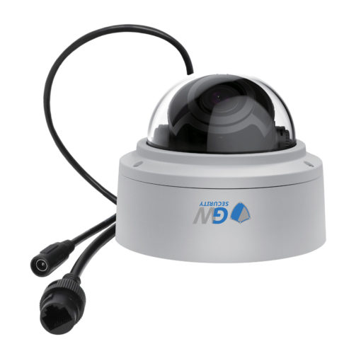 GW8171MMIC 8MP 4K IP POE 2.7-13.5mm Motorized Lens Dome Security Camera