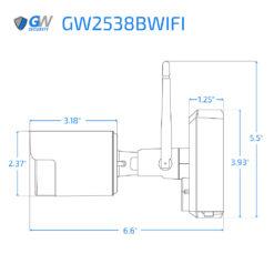 2538BWIFI dimensions